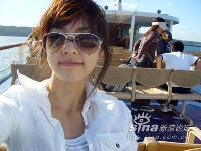 韩国整容美女明星日常生活照
