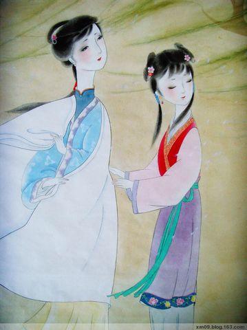 柳絮儿(原创仕女) - 满庭蝴蝶儿 - 满庭蝴蝶儿