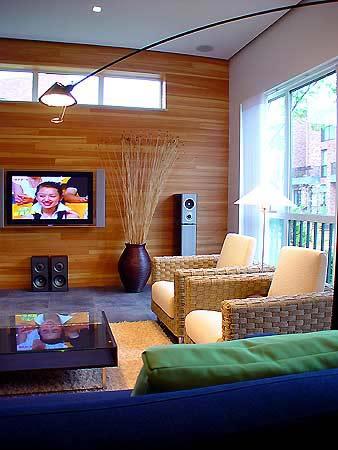 最新客厅电视墻效果图66款(整理)  - 一杯清茶 - 洈水河畔的守望者