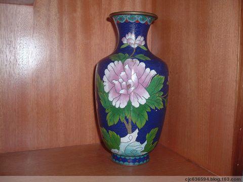 清末花瓶(景泰蓝) - 泉之源 - 龙聚龙乡