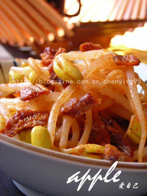 赋予黄豆芽无敌美味---附餐桌上有着超高人气的22道菜 - 可可西里 - 可可西里