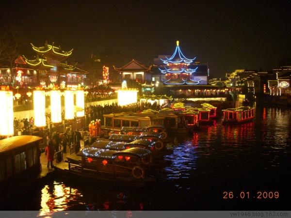 南京2009春节夫子庙灯会(原创) - 风卷云舒 - 风卷云舒