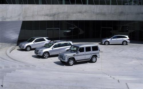 奔驰全系列SUV超大宽屏壁纸赏 - zhangdaxian199 - 大仙的小屋