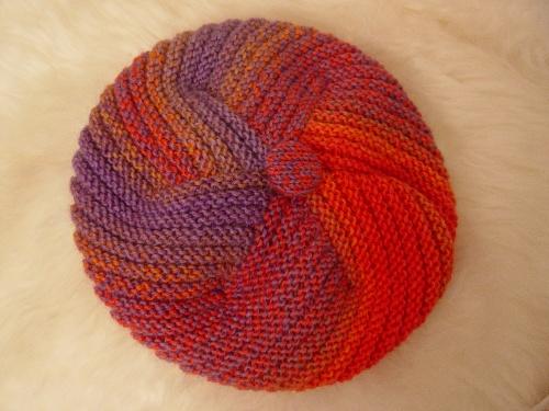 段染贝蕾帽 - 开心果 - 织织不倦