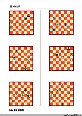 基本残局练习(09年元月19日-元月25日) - 南通小鱼儿--二附国际象棋培训基地 - 二附国际象棋--小鱼儿的博客