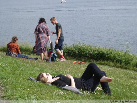 到西雅图观光(9):来到湖滨公园 - 阳光月光 - 阳光月光