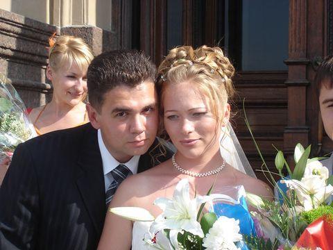 俄罗斯新郎和新娘 - 阳光月光 - 阳光月光