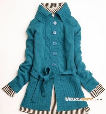简单蓝大衣 - 雪枫 - 雪与枫共舞