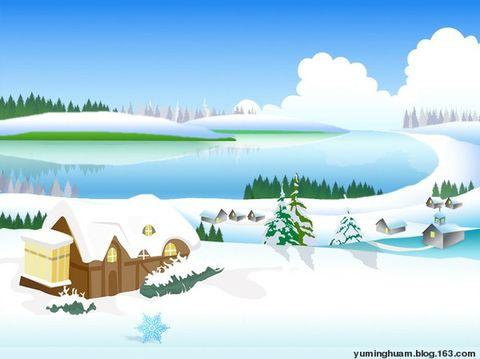 享受冬日的幸福(原) - 在水中的小鱼 - 在 水 中 的 小 鱼