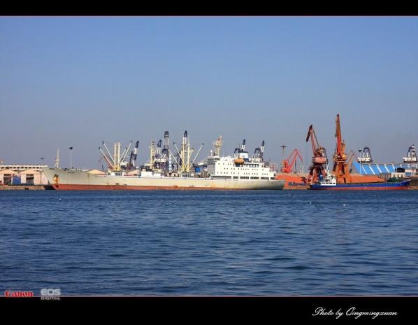 美丽的港口——烟台港 [原创摄影] - 清茗轩 - 清茗轩  摄影博客