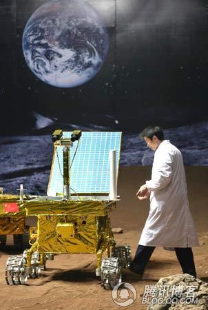 中国奔月工程车曝光,嫦娥姐姐我来喽! - aaqq-1232 - 宝君2009