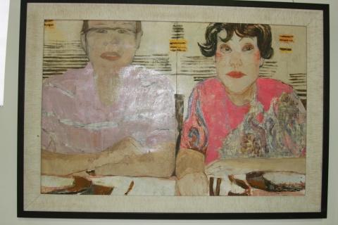 2008 风景·风情 全国油画人物画作品展作品(现场图)(1) - 黄箫 - 黄箫的博客
