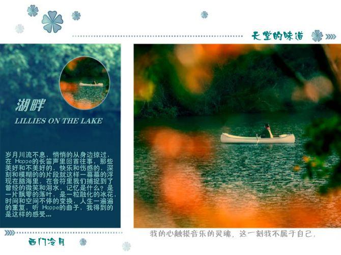 【发烧长笛】LILLIES ON THE LAKE 湖畔 - 西门冷月 -                  .