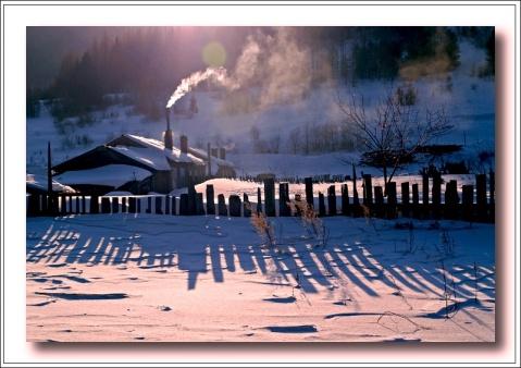 七律   冬日乡村即景 - 十年剑 - 十年剑的博客