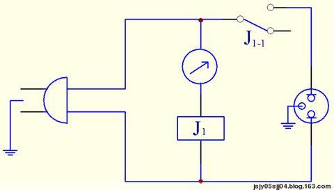 99se绘制简易定时继电器电路图
