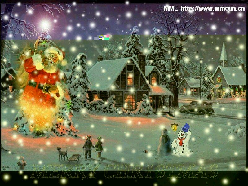 随笔:平安夜的礼物 - 星雨霏霏 - lpfyjl521