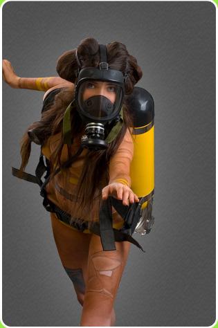 乌克兰美女化身性感矿工,推销矿山用品(组图) - 刻薄嘴 - 刻薄嘴的网易博客:看世界