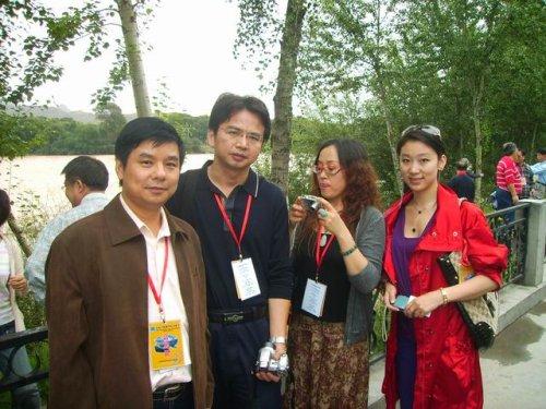 青海湖国际诗歌节会场,黄河边,青海湖 - 杨克 - 杨克博客