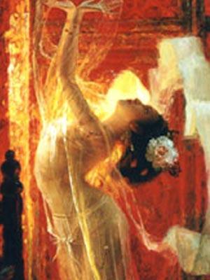 圣洁灵魂的身体之舞不容亵渎(图) - 凤凰淑女 - 凤凰淑女