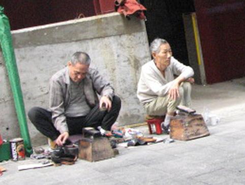 香港老人的生存方式(组图) - 徐铁人 - 徐铁人的博客