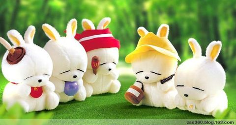 【生活小品】流氓兔·我喜欢 - 木·行者 - 木·行者 刘海戏金蟾
