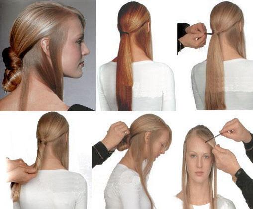 女士扎头发方式(八)! - 知己难求 - jlsplslzq 的博客