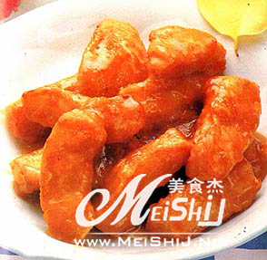 拔丝桔子-www.meishij.net
