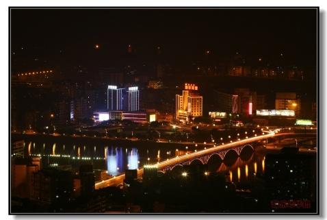 一组市区夜景 - 苦乐年华 - 苦乐年华的博客