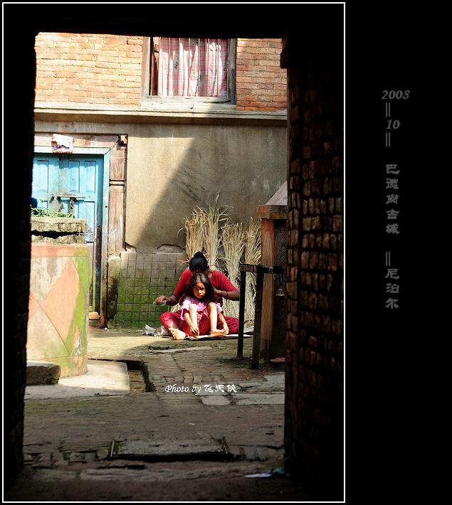 [原摄]快乐的时光--尼泊尔(6)巴德岗古城 - 飞天侠 - 飞天侠的摄影视界