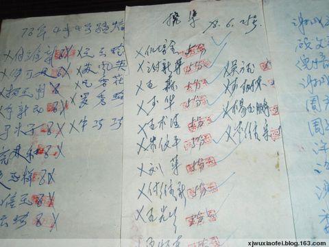 写在烟盒纸上的劳动工分 - 红色毛芨芨 - xjwuxiaofei的博客