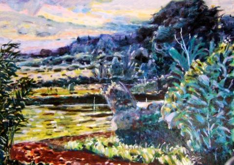 此刻的快乐 - 应歧的油画风景 - 应歧的油画风景