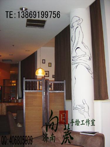 浪漫咖啡厅 - 小张 - 济南手绘墙