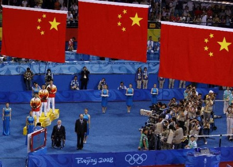49 直拍巅峰战马琳4比1王皓 勇夺奥运乒球男单金牌 - 落落 - 我们