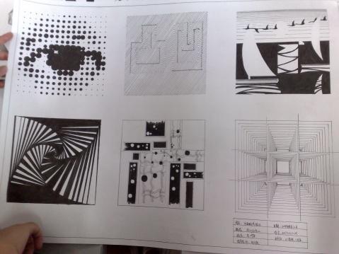 点线面平面构造设计图展示图片