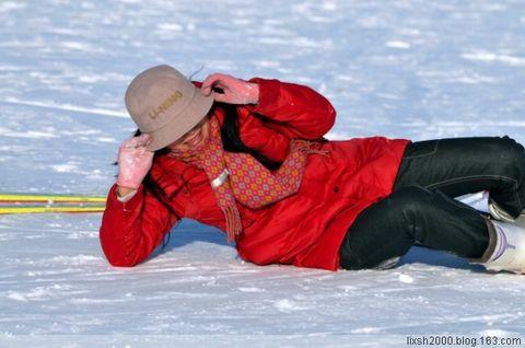 银峰滑雪基地 开心滑雪 享受童趣 - 阿凡提 - 阿凡提的新疆生活