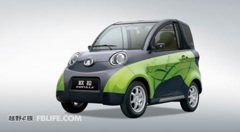 欧拉(gwkulla)是长城最新开发的一款两人座纯电动新能源车,高清图片