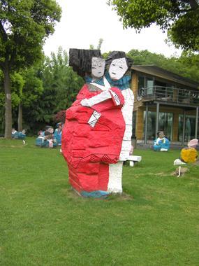 上海佘山月湖雕塑公园观后记 - 多来米雕塑 - 上海雕塑厂有限公司