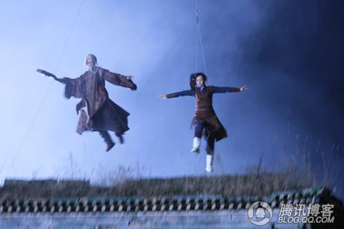 《倚天屠龙记》蛛儿在打打杀杀,飞来飞去 - 冰豆 - 向六的空间