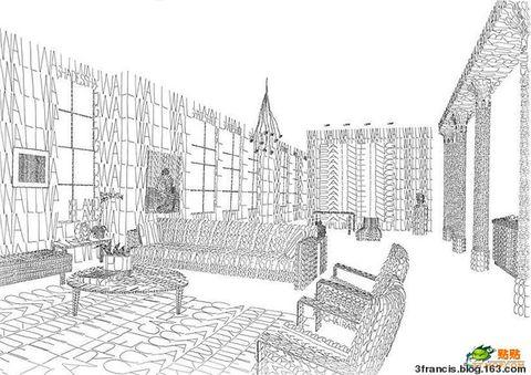 特效英文字母绘画 - 3francis - 天主堂图片