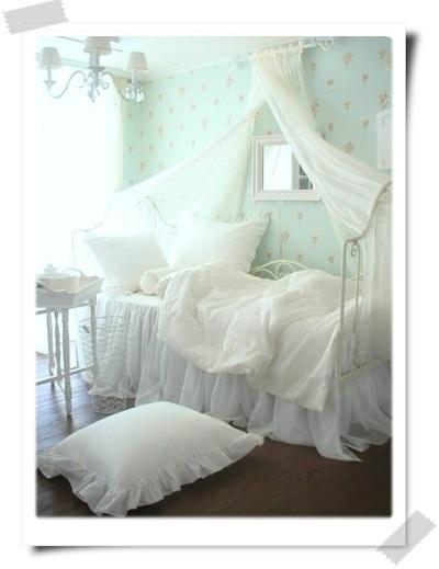 童话梦幻的公主床 照片欣赏