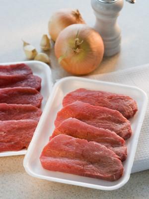 辨别注水肉