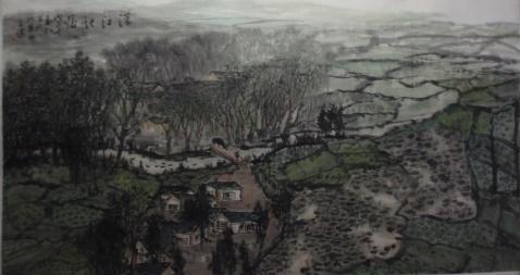 我的汉江作品一幅 - 老軒 - 孟軒,田華的空間