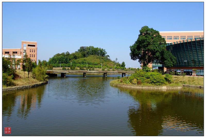 广州中山大学校园风景