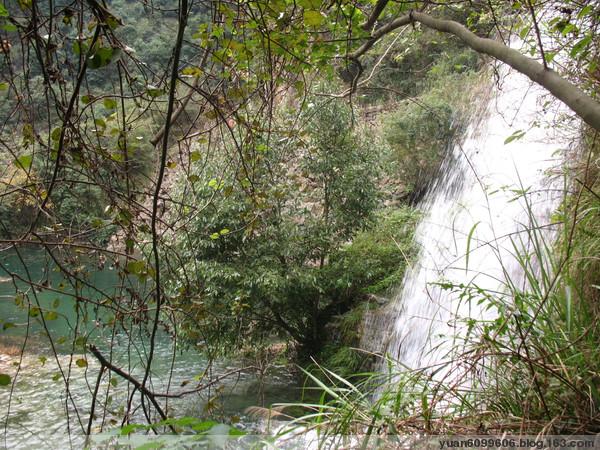 (十四)镜屏外婆坑瀑布 - 镜湖水 - 镜湖水的博客