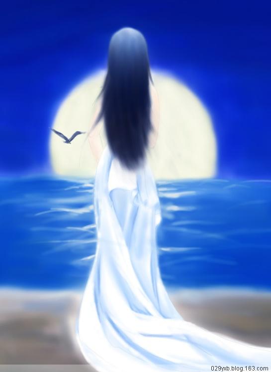 【单曲】委婉低回,欲说还休---倩女幽魂之新月 - 天涯 -