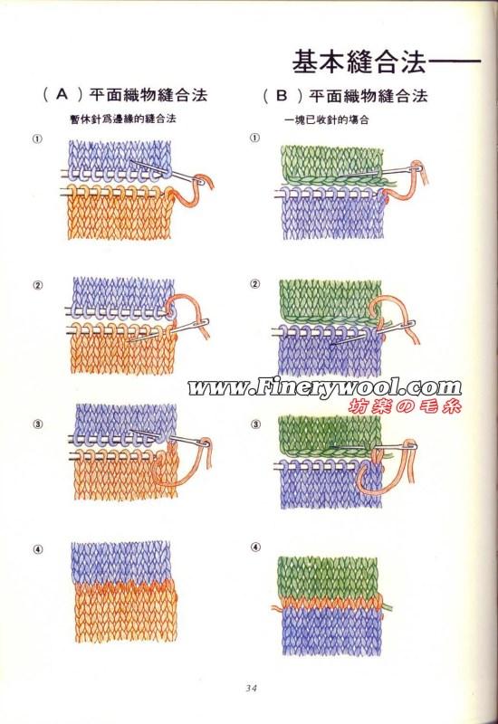 毛衣缝合技巧 - 红阳聚宝 - 红阳聚宝的博客