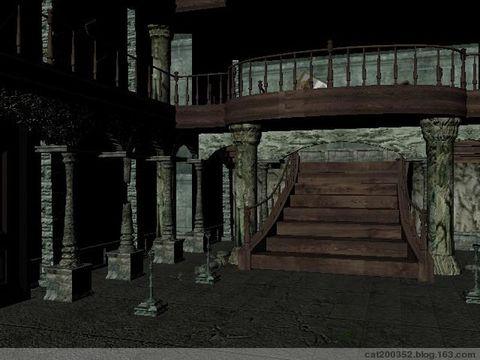 2008.9.28 maya室内场景贴图 高清图片