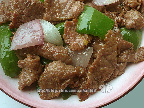 史上最滑嫩的蚝油牛肉——来自名厨的嫩肉法 - 墨舞斋主人 - 墨舞斋主人的蓝色空间