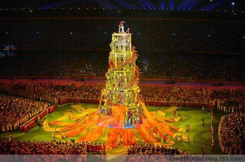 [原创] 2008奥运闭幕式畅想(诗五言·组图) - 陈迅工 - 杂家文苑