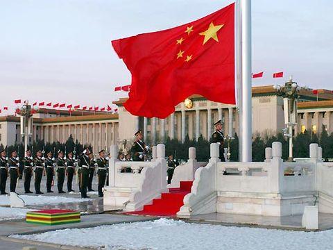 国旗护卫队班长:八一,我将国旗抛向天安门上空(高红甫) - 铁道兵kg7659 - 铁道兵kg7659